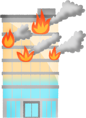 picture royalty free Buildings clipart fire. Building on free illustrations