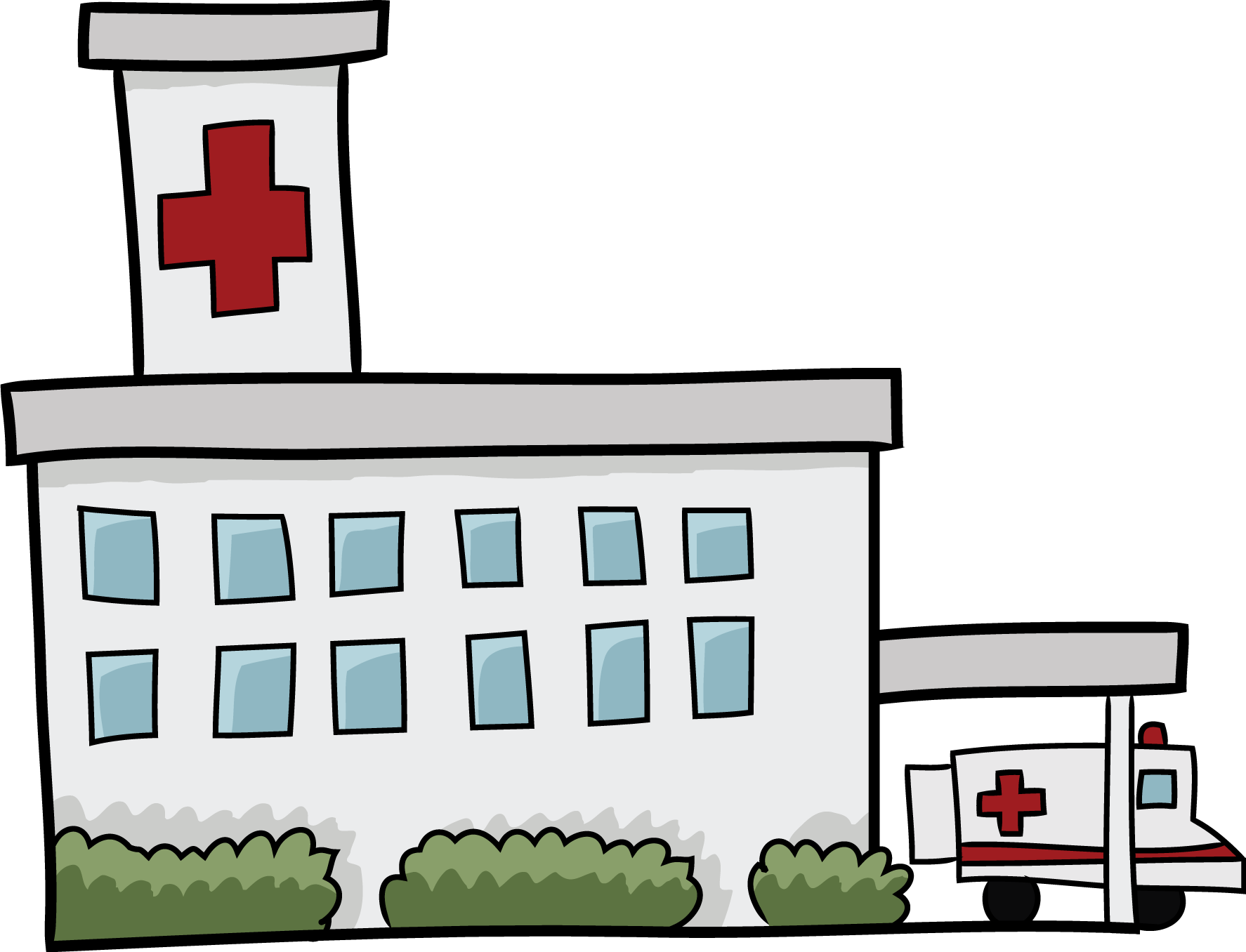 graphic free library Free web page clipart. Hospital