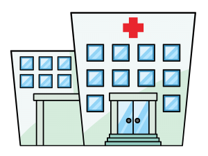 banner free library Building x png drawing. Buildings clipart hospital