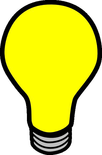 vector transparent stock Bulb clipart. Light transparent background free.