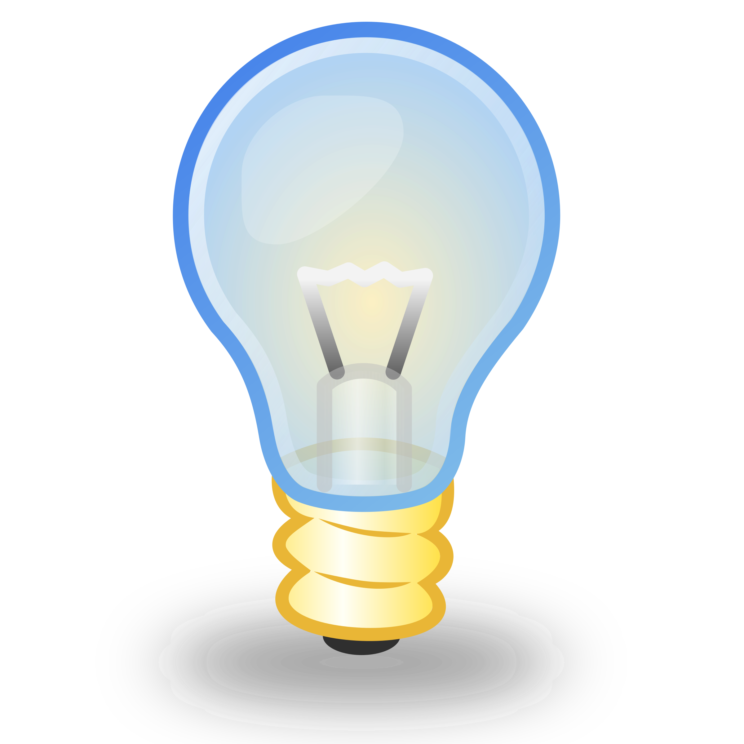vector black and white library Bulb clipart electric bulb. Light