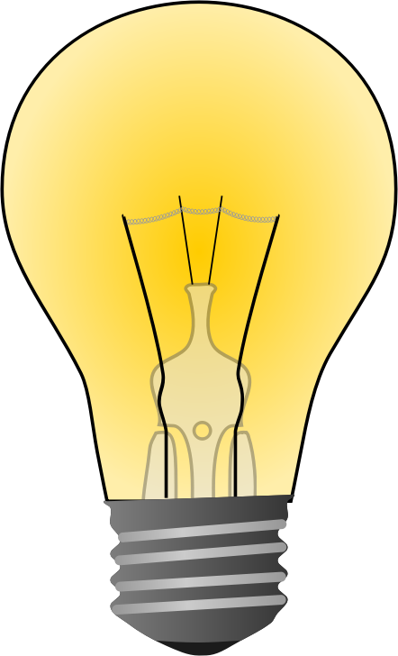 free stock  collection of light. Bulb clipart electric bulb