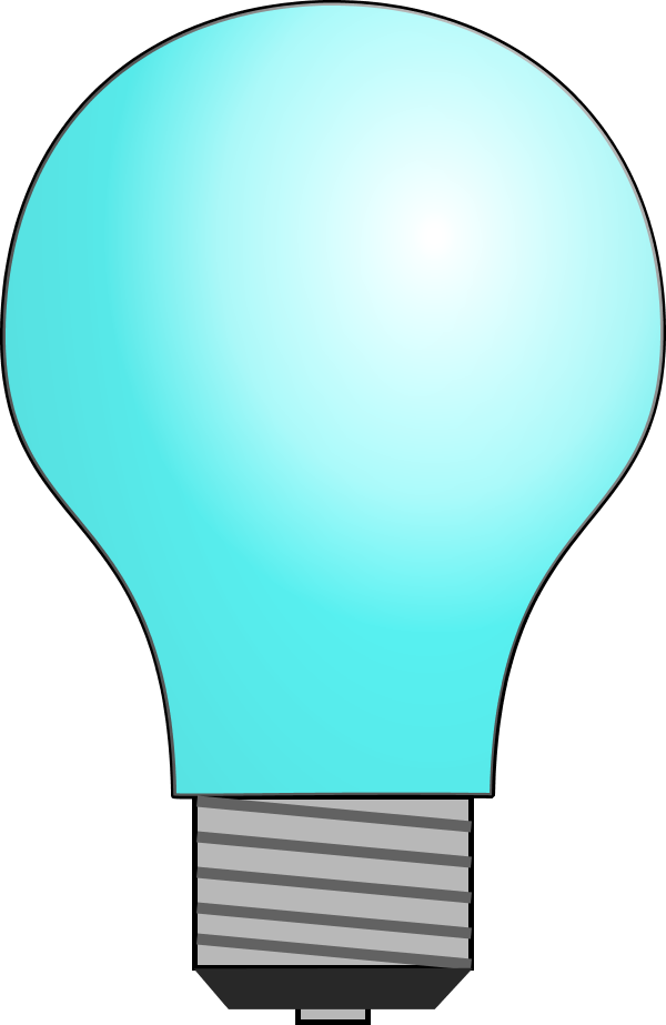 banner freeuse stock Bulb clipart genius hour. Intro pptx by dmontgom