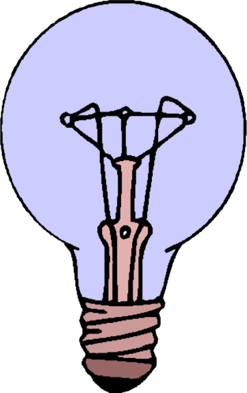 transparent Bulb clipart genius hour. Intro pptx by dmontgom.