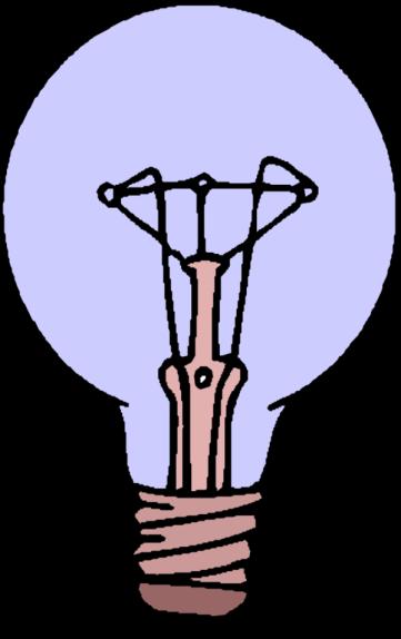 transparent Bulb clipart genius hour. Intro pptx by dmontgom