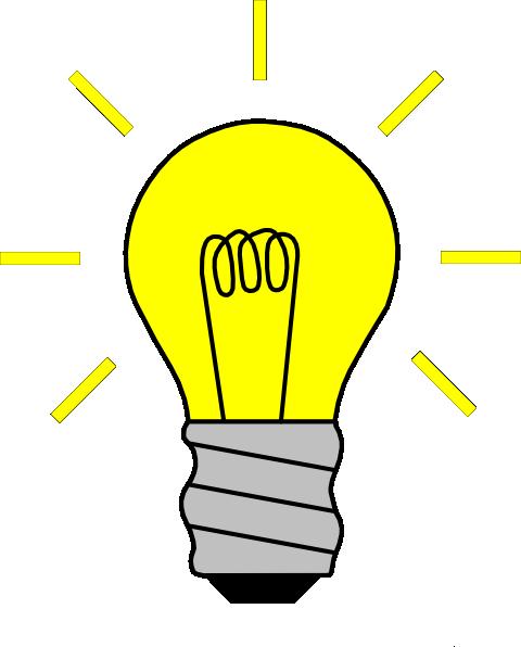 svg transparent Glowing Bulb Gif