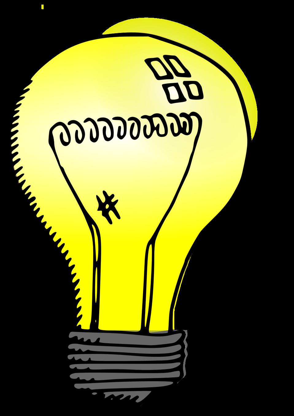 banner download Public domain clip art. Bulb clipart person