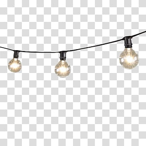picture royalty free library Lighting star free creative. Bulb clipart string light