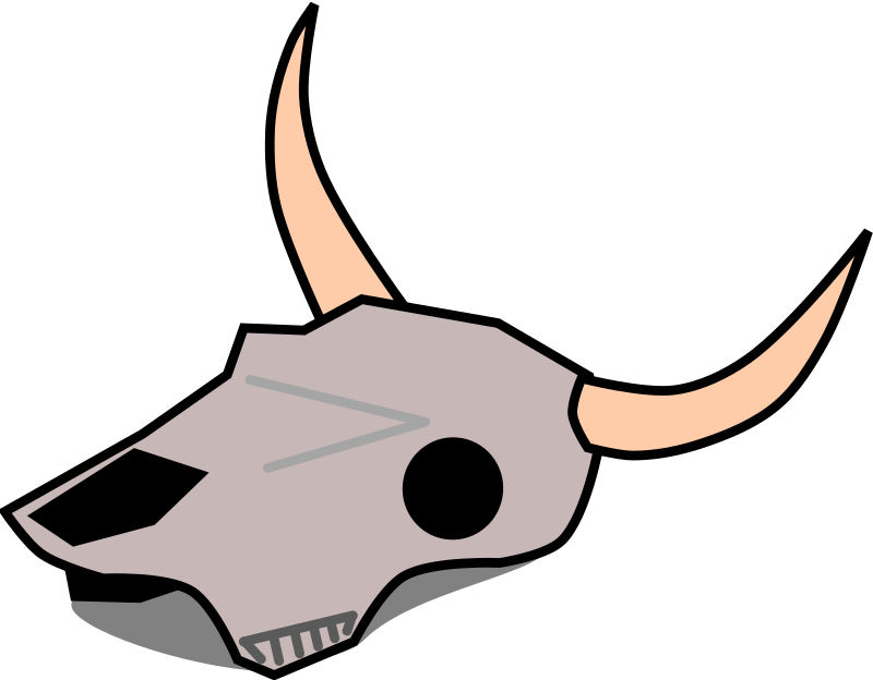 clipart transparent Cattle cartoon free on. Longhorn clipart longhorn bull.