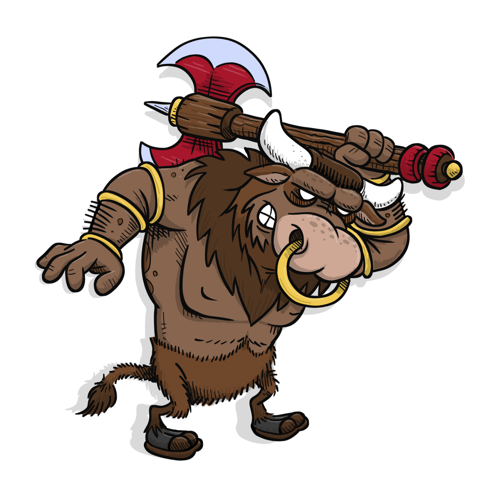 graphic library download Bull clipart minotaur. Arrrggghhh another blog character.