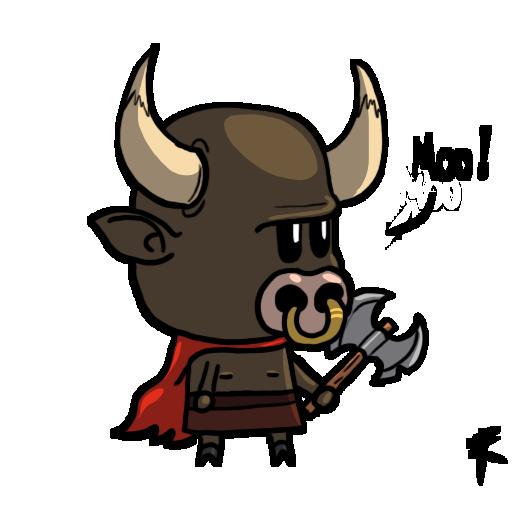 svg transparent stock Bull clipart minotaur. Cute by tastygraph on.