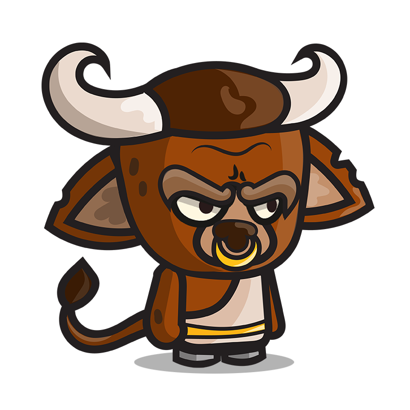 clip transparent stock Bull clipart minotaur. Daily chibi steemit description