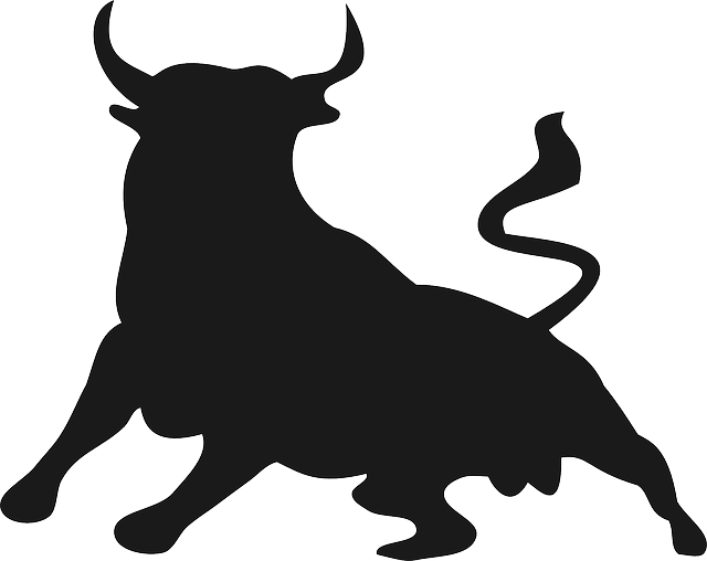 clipart freeuse stock Bull clipart pitcher. The running of bulls.
