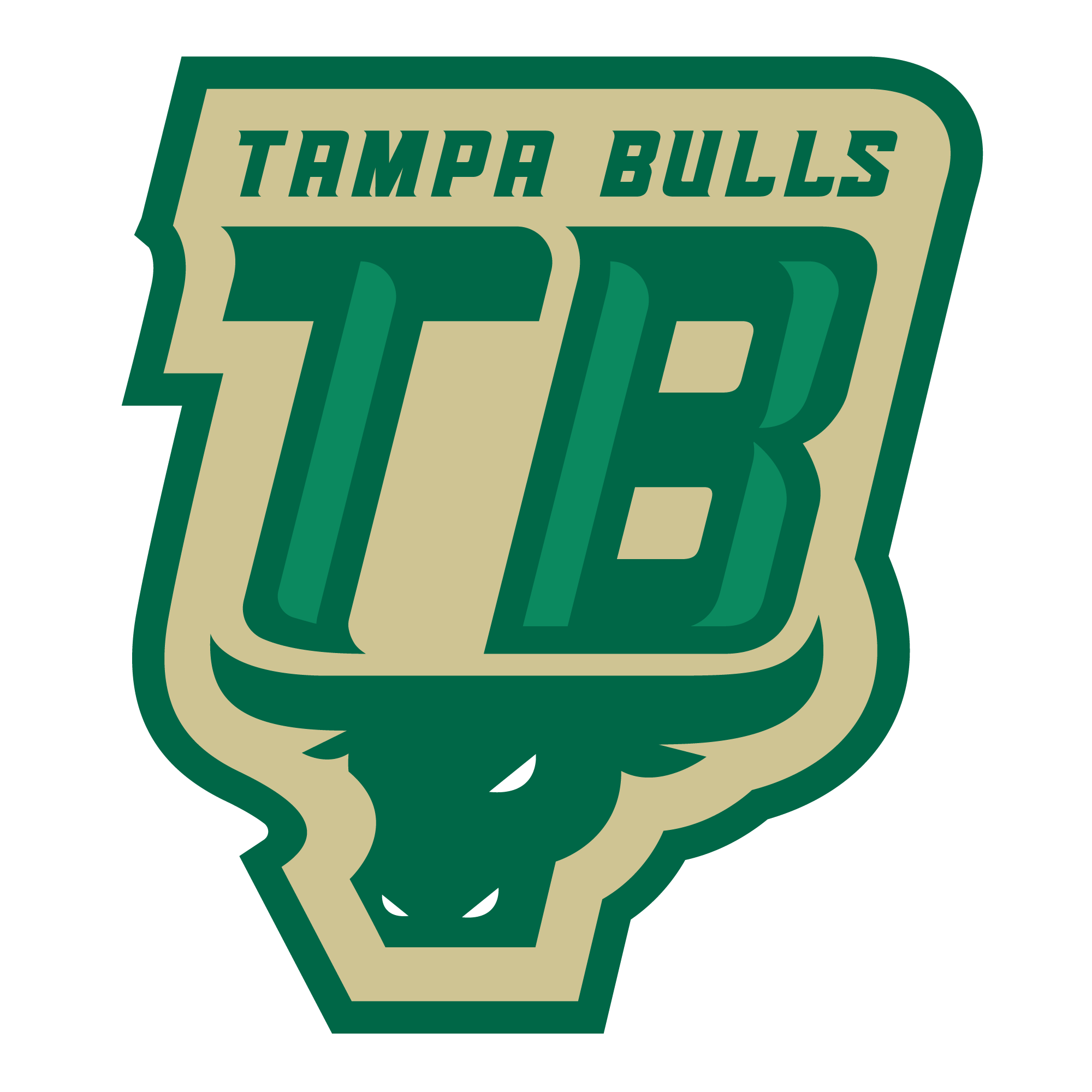 graphic transparent stock Bull clipart usf. Who are tampa bulls.