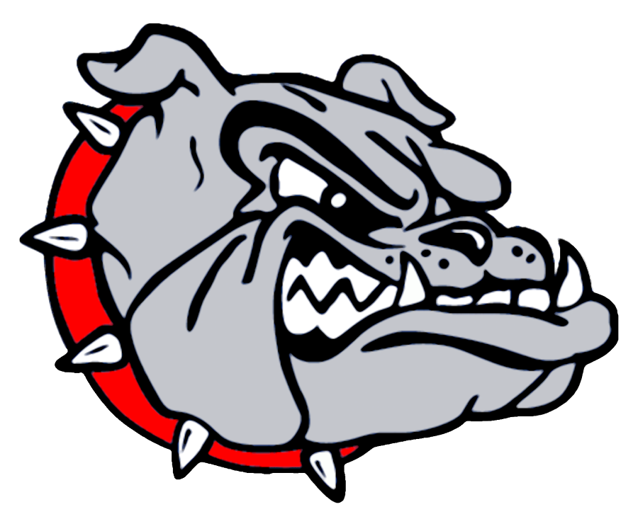 banner black and white Vector bulldog high school. Png transparent images pluspng