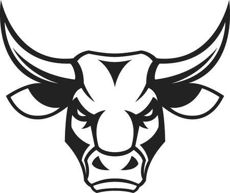 graphic transparent library Portal . Bull head clipart