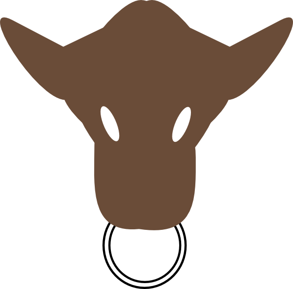 clip art library stock Bull Head Clip Art at Clker