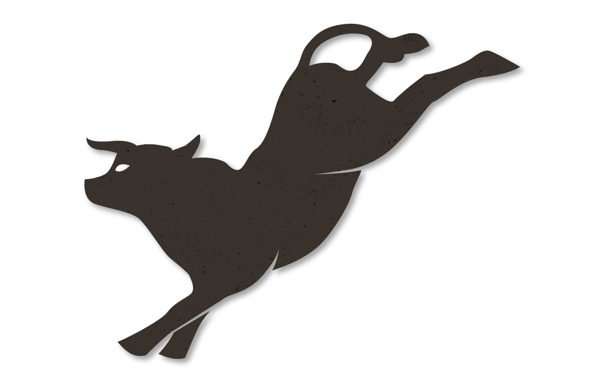 png freeuse library Bucking Bull Silhouette at GetDrawings