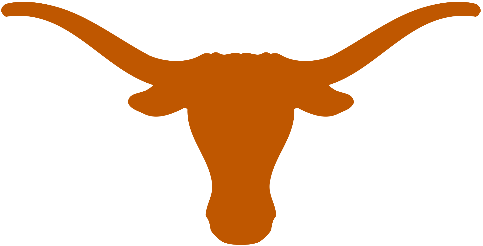 clip art longhorn drawing portrait #99133496