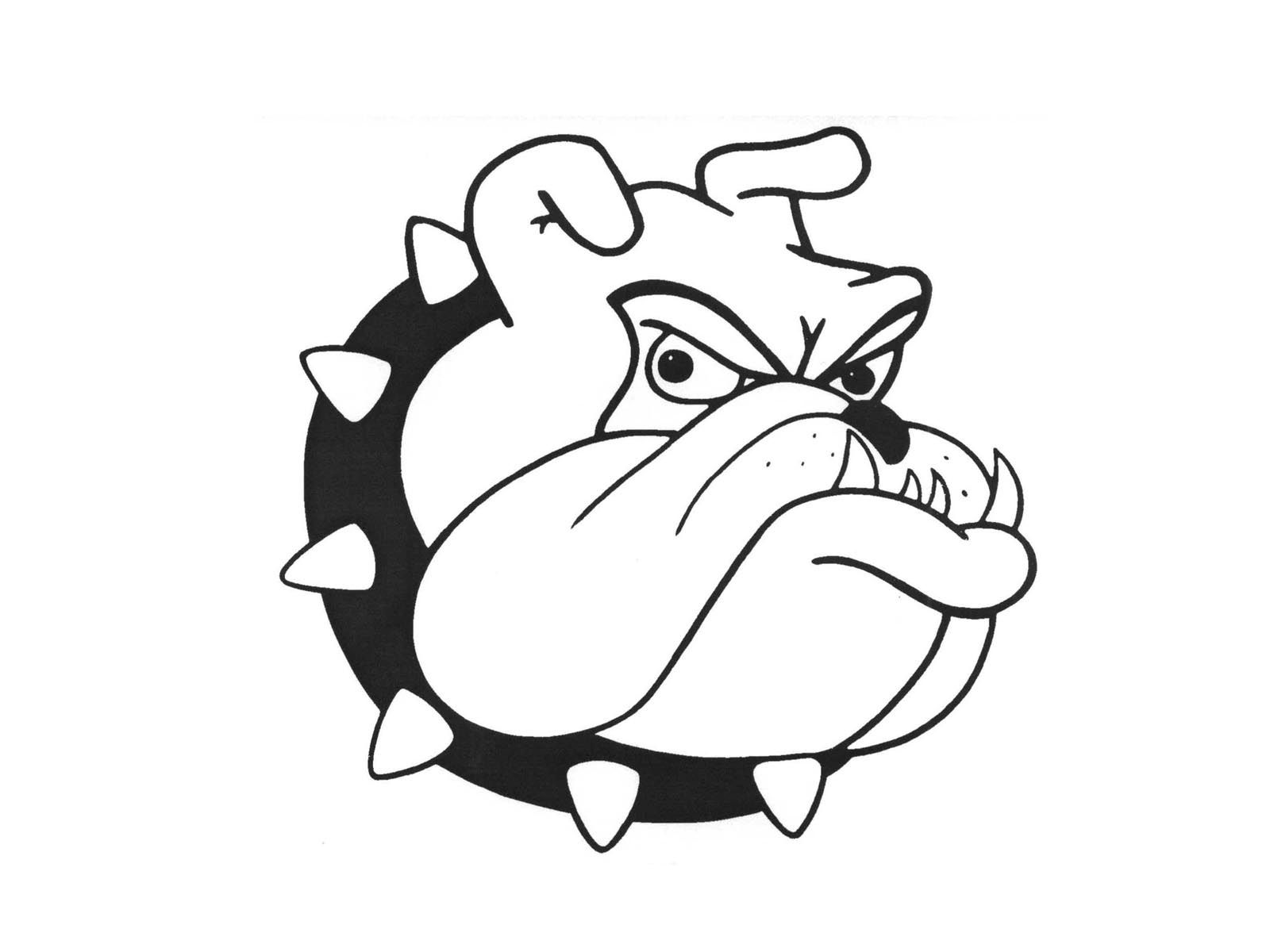 clipart library library Bulldog clipart.  cartoon images free.