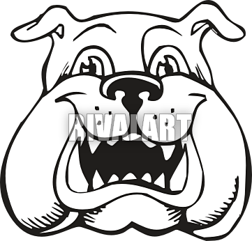vector transparent Clipart panda free images. Vector bulldog head