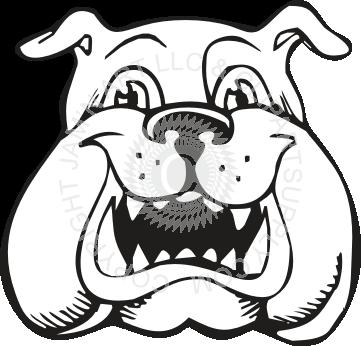 png library library Bulldog clipart angry. Head drawing at getdrawings