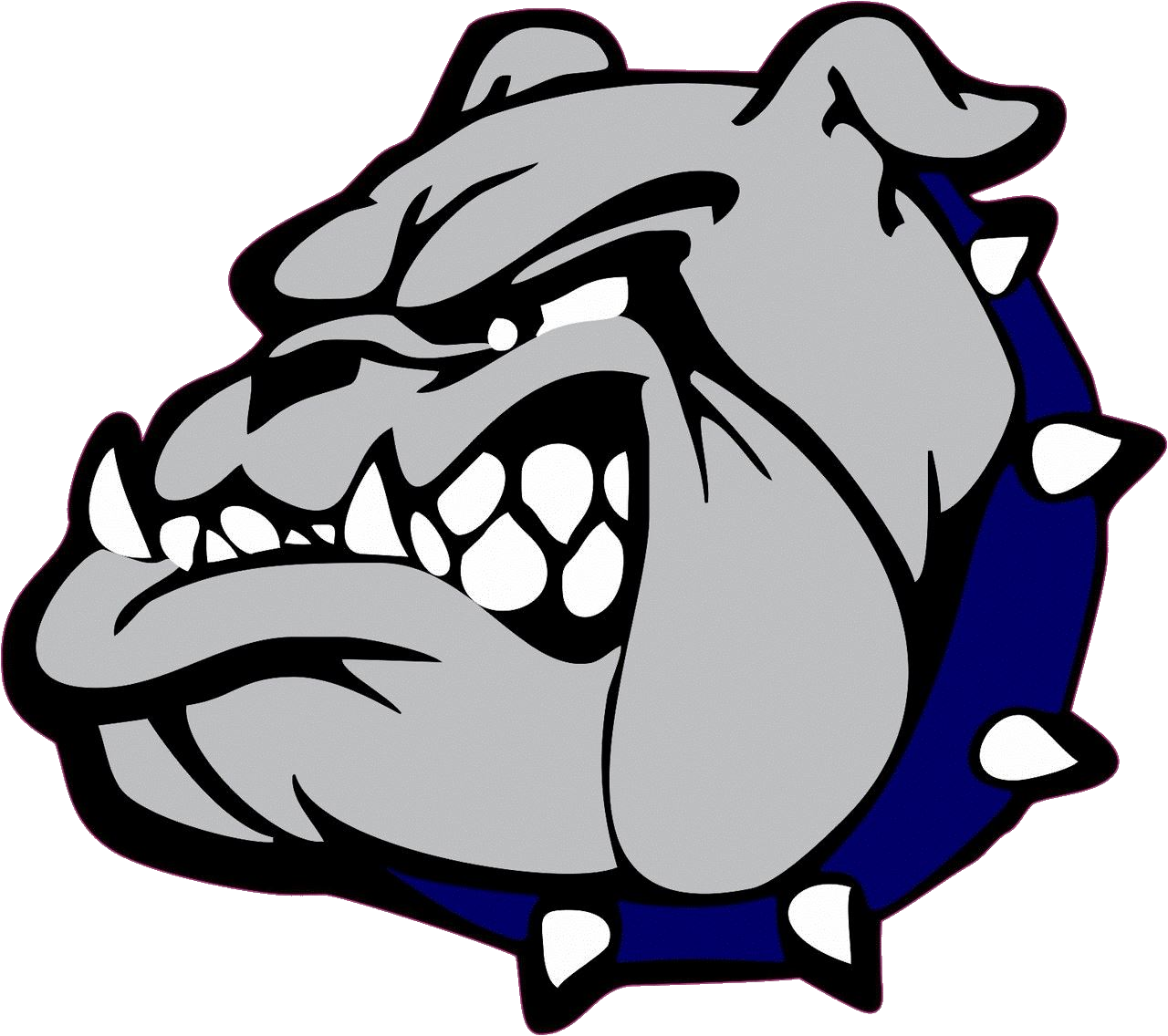 royalty free Bulldog clipart fhs. The red river bulldogs
