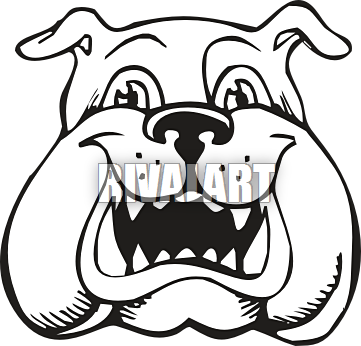 image black and white stock Panda free images bulldogmascotclipart. Bulldog clipart mascot.