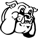 picture free Bulldog clipart mascot. Friendly head.