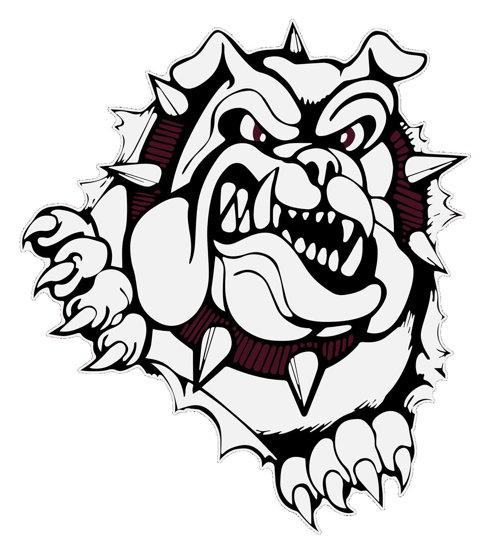 free library Woodridge team home bulldogs. Bulldog clipart wrestling