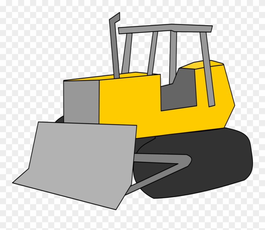 svg free library Caterpillar d excavator heavy. Bulldozer clipart.