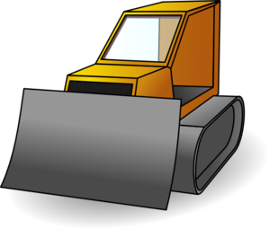 png library download Bulldozer clipart. Clip art at clker