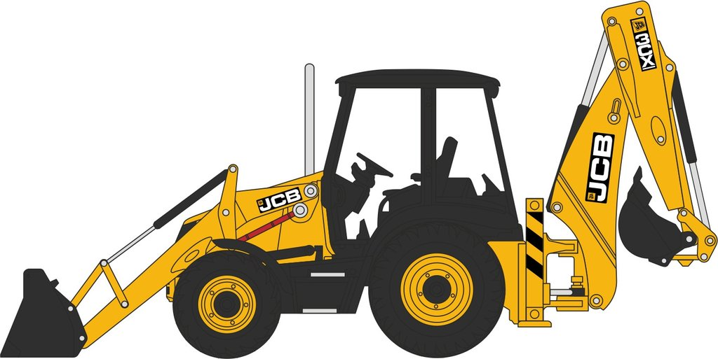 graphic Bulldozer clipart digger jcb.