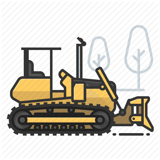 picture transparent library Bulldozer clipart digger jcb. Collection of free dozed
