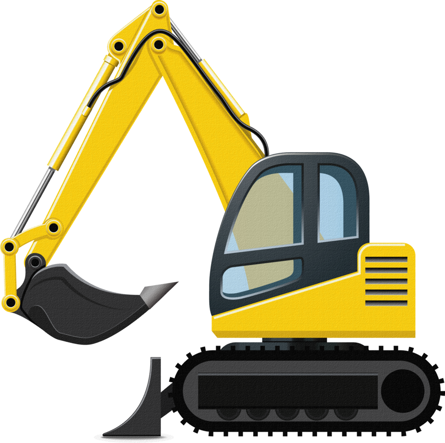 clip black and white download Bulldozer clipart construction equipment