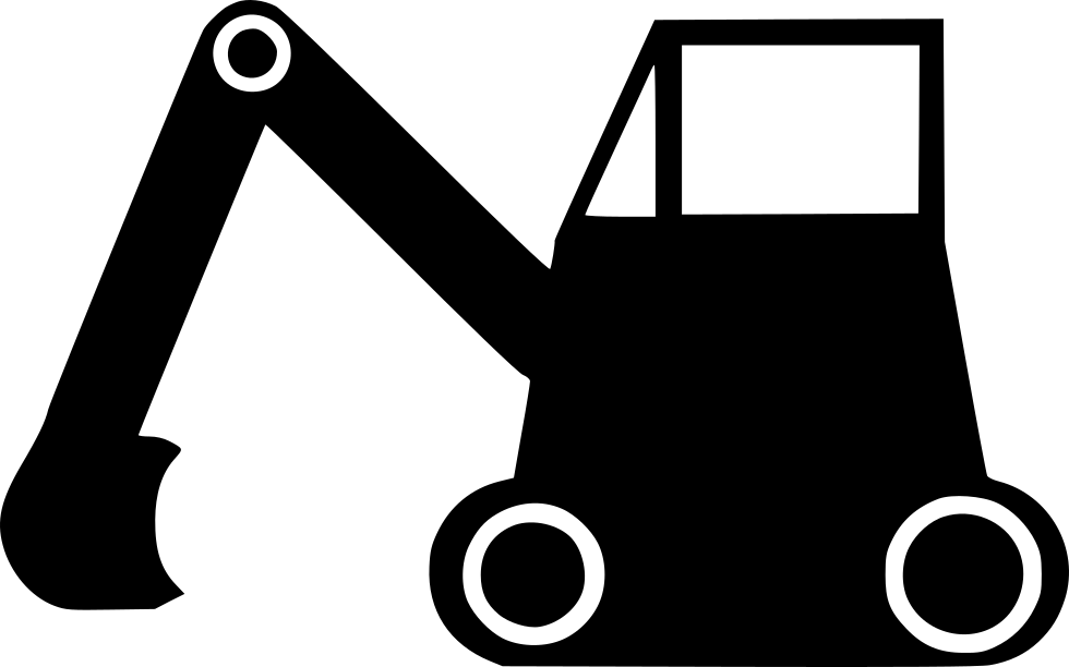clip art transparent Bulldozer Machine Vehicle Road Excavator Earthmover Svg Png Icon