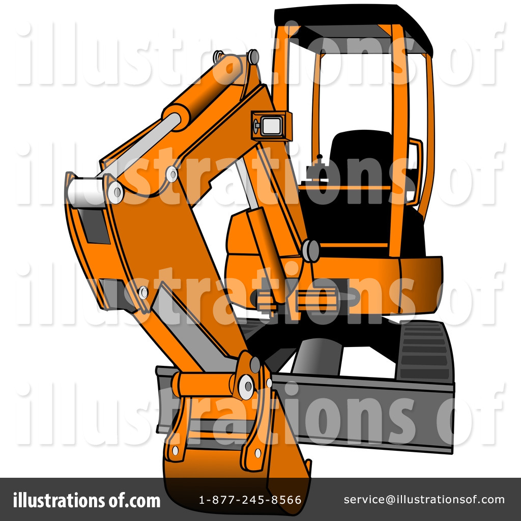 clipart royalty free Bulldozer clipart excavator bobcat. Illustration by djart royaltyfree.