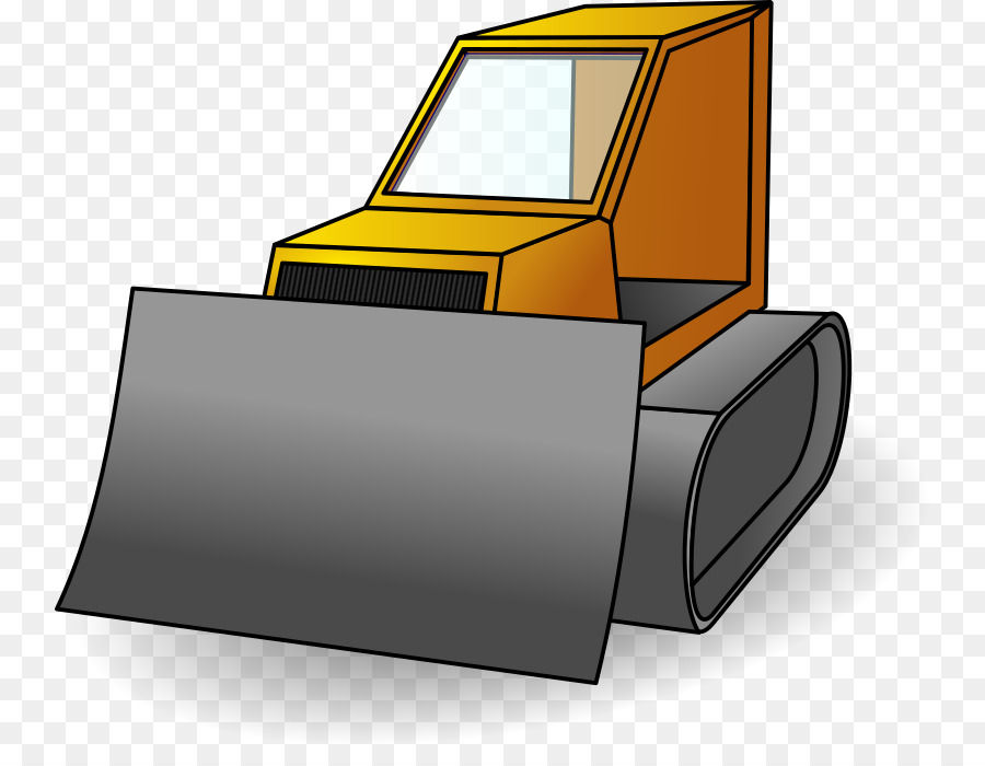 picture royalty free Bulldozer clipart happy. Transparent free
