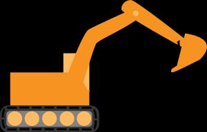 vector transparent library Bulldozer clipart happy. Birthday excavator