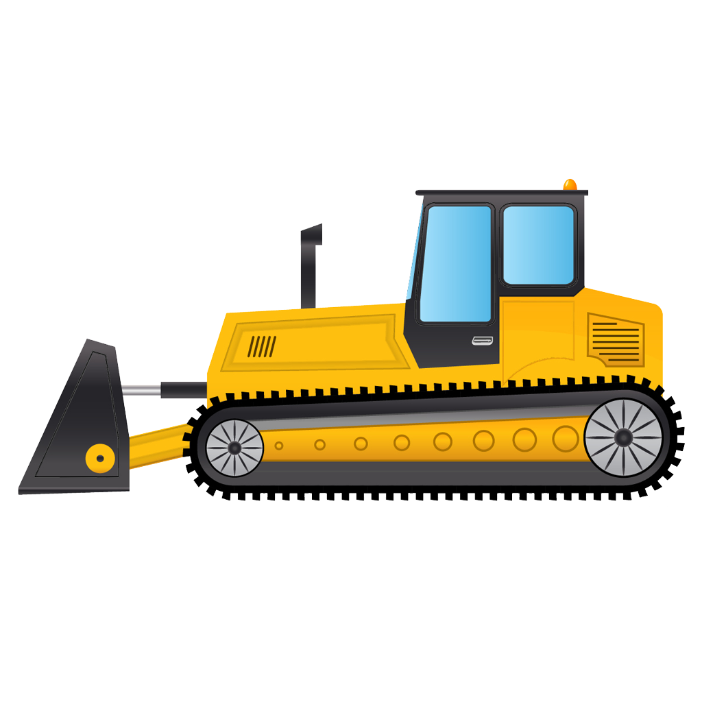 svg free Pin by hopeless on. Bulldozer clipart happy