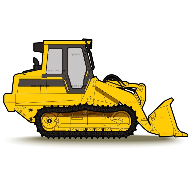 black and white download Bulldozer clipart machinary. Construction equipment at getdrawings