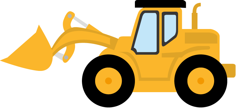 svg free download Bulldozer clipart machinary. Silhouette at getdrawings com