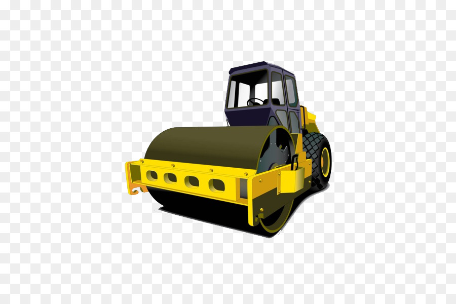 clip art royalty free download Bulldozer clipart road roller. Paver asphalt concrete surface.