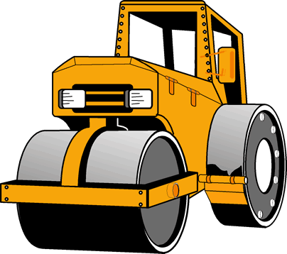 graphic Bulldozer clipart road roller. Invert wryyyy by inverttails.