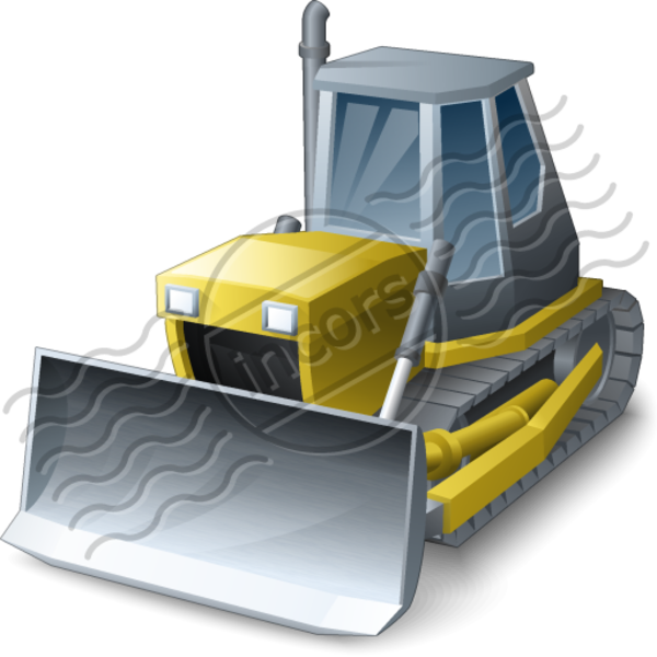 jpg freeuse download Bulldozer clipart road roller. Free images at clker.