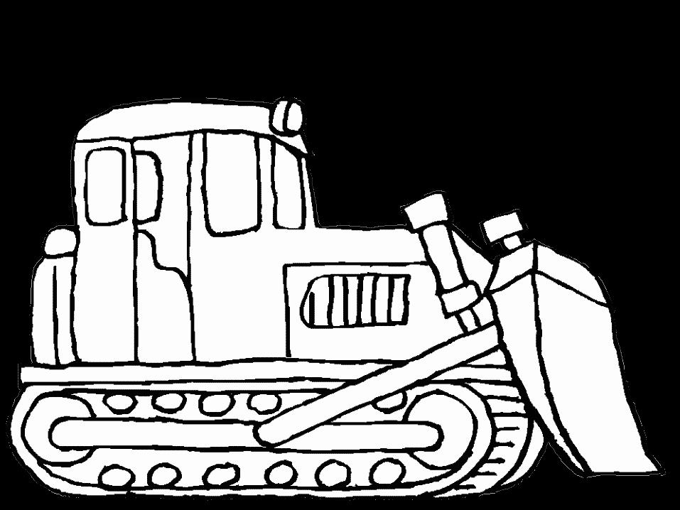 clip art stock Bulldozer Drawing at GetDrawings