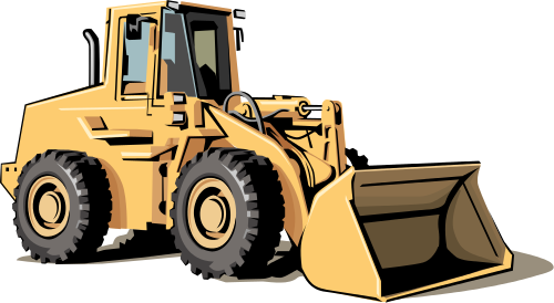 clip art royalty free stock Bulldozer clipart sketch. Heavy equipment group free
