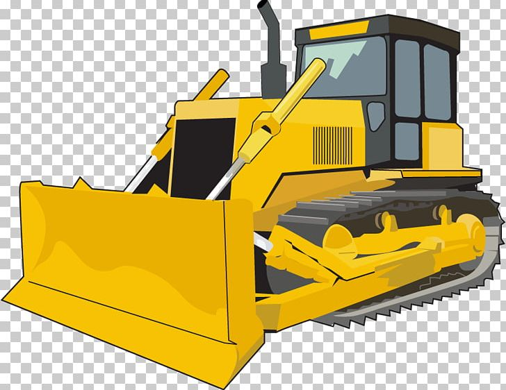 clip freeuse Bulldozer clipart tractor caterpillar.