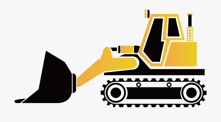 graphic transparent library Excavator png . Bulldozer clipart tractor caterpillar