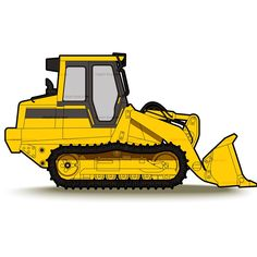 banner royalty free library Bulldozer clipart tractor caterpillar. Clip art tractors heavy